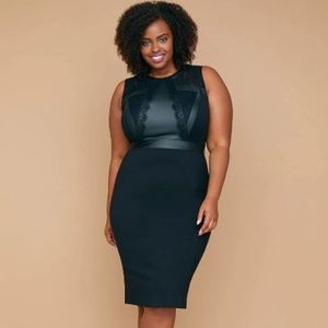 Lane Bryant Fast Lane Built-In Shaping Panels Lace